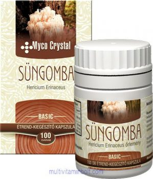 Myco Crystal Süngomba kapszula - 100 db