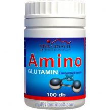 Amino Glutamin kapszula 100 db - Vita Crystal - agyserkentő, impotenciára, fáradtság ellen, sebgyógyulásra