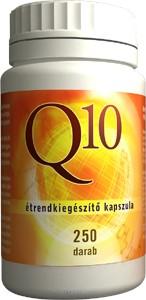 Q10 kapszula 250 db - Q10 koenzim tartalommal - Flavin7