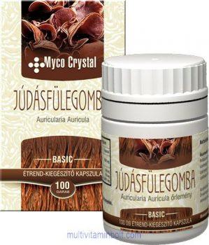 Myco Crystal Júdásfülegomba kapszula - 100 db
