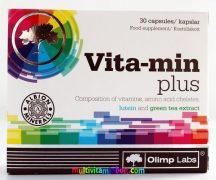 Vita-Min-Plus-Multivitamin-zold-tea-lutein-olimp-labs