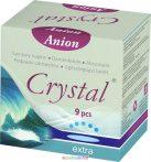 Anionos intimi betét extra méret, 9 db/doboz,  intim betét fertőzések ellen - Vita Crystal