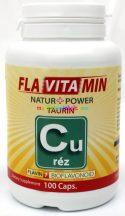 Flavitamin Réz 100 db kapszula - réz és taurin tartalommal - Flavin7