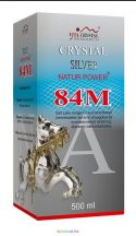 Crystal Silver Natur Power 84M 500 ml ezüst oldat, kolloid - Vita Crystal