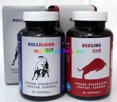 BullBlood-kapszula-60-db-es-RedLine-kapszula-60-db
