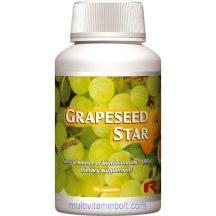Grapeseed Star 60 db kapszula - szőlőmag kivonattal és citrus bioflavonoid tartalommal - StarLife