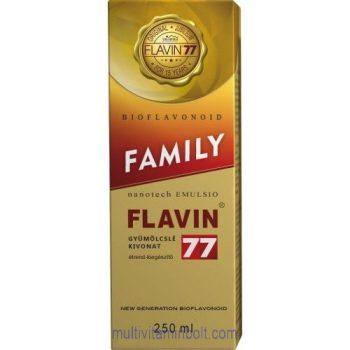 Flavin77 Family szirup (250ml) - családunk egészségéért - Flavin 7