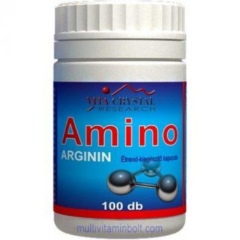 Amino Arginin kapszula 100 db - Vita Crystal