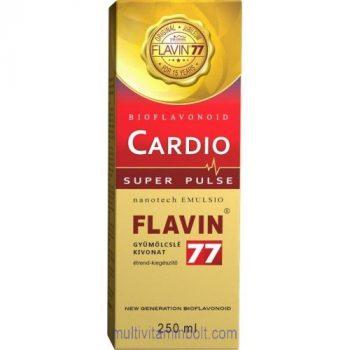 Flavin77 Cardio Super Pulse szirup 250 ml - kiemelkedő antioxidáns tartalommal - Flavin7