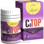 CaTOP Forte kapszula (100 db) - kalciumforrás az egészséges csontokért - Flavin 7