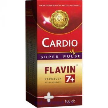 Cardio Flavin7+ Super Pulse kapszula (100 db) - tegyen szíve egészségéért a Flavin7-tel!