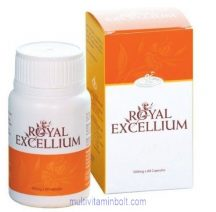 Royal Excellium 60 db kapszula méhpempőből (250 g) és Ganoderma lucidum micéliumból (250 g) - GanoExcel