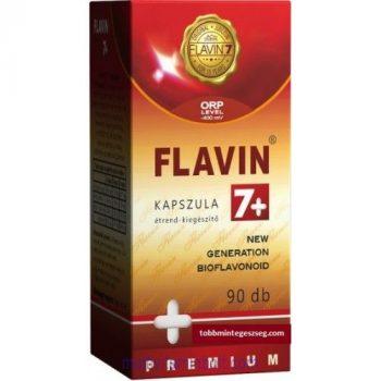 Flavin 7+Prémium kapszula (90db) - gyökbefogó hatású fokozott antioxidáns - Flavin7