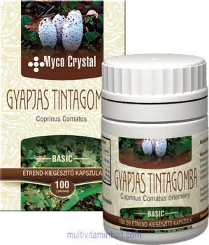 Myco Crystal Gyapjas tintagomba kapszula 100 db