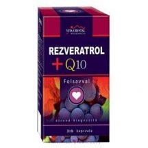Rezveratrol + Q10 + folsav kapszula (30 db) - Flavin7