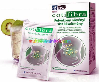 Cotifibra Bélradír 12 db 60 ml ivótasak 7000 mg prebiotikus rost tartalom tasakonként - Specchiasol