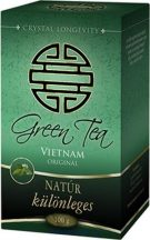 Green Tea Natúr (100 g) - Crystal Longevity