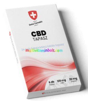 Svajci-CBD-Kender-tapasz-20-mg-6db-Swiss-Cannabis