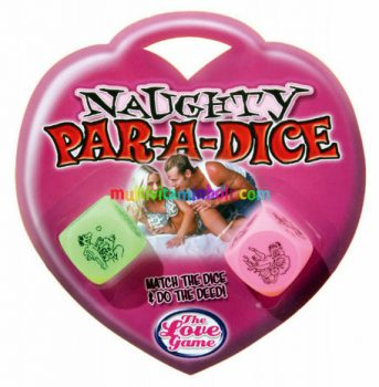 Naughty Par-A-DICE-SEX-POZ-dobokocka-2db-paroknak