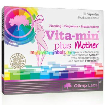 Vita-Min-Plus-mama-Multivitamin-zold-tea-lutein-olimp-labs-kismama-vitamin