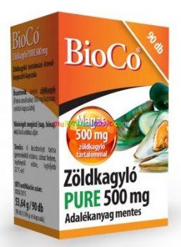 Zoldkagylo-PURE-500-mg-90-db-kapszula-uj-zelandi-BioCo