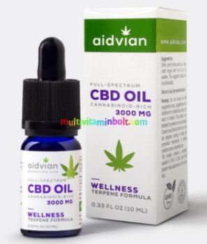 CBD-kendermagolaj-3000mg-10ml-full-spektrum-wellness-aidvian