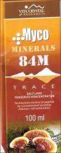 Myco Minerals drops 84M 100 ml  Pecsétviaszgomba cseppek ásványi anyagokkal, nyomelemekkel - Vita Crystal