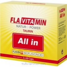 Flavitamin All in 2x60 db kapszula - Multivitamin L-taurinnal - Flavin7