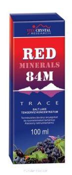 Red Minerals drops 84M 100 ml - Ásványi cseppek a Nagy Sóstóból - Vita Crystal