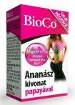 Ananasz-kivonat-papayaval-MEGAPACK-100-db-BioCo