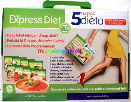5 napos diéta, hogy lefogyjon 7 kg