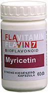 Flavitamin Myricetin 60 db kapszula, 16 mg Myricetin - Flavin7