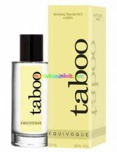 taboo-For-Him-EQUIVOQUE-Feromon-unisex-ferfi-noi-Parfum-50-ml-doboz-kellemes-illat