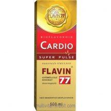 Flavin77 Cardio Super Pulse szirup (500 ml) - kiemelkedő antioxidáns tartalommal - Flavin7