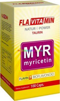 Flavitamin Myricetin 100 db kapszula - Flavin7