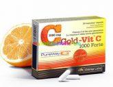 Gold-Vit® C 1000 Forte - újgenerációs szabadalmazott C-vitamin formula - Olimp Labs