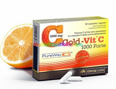 Gold-Vit C 1000 Forte - újgenerációs szabadalmazott C-vitamin formula - Olimp Labs