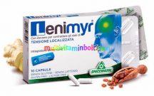 Lenimyr 10 db kapszula, természetes segítség másnaposság, fejfájás ellen, mirhagyanta, gyömbérgyökér és vízmentes koffein  - Specchiasol