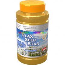 Flax Seed Star 60 db - Omega-3, -6, -9, a szív- és idegrendszer támogatására, lenmaggal - StarLife