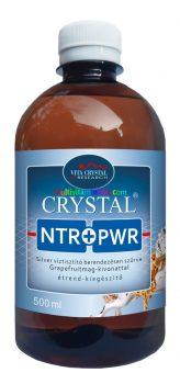 Crystal NTR+PWR Silver víztisztító berendezésen szűrve Grapefruitmag-kivonattal étrend-kiegészítő 500ml - Vita Crystal