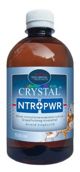 Crystal Silver Natur Power 500 ml ezüst oldat, kolloid - Vita Crystal