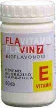 Flavitamin E 60 db kapszula, 12mg E-vitamin, flavonoidok - Flavin7