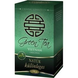 Green Tea Natúr (500 g) - Crystal Longevity