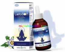 LietoSON 50 ml, alkoholmentes Relax csepp. Feszültség, idegesség, szorongás, pihentető mély alvás - Erbavita
