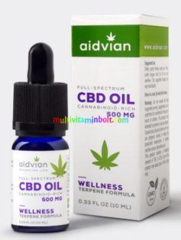 CBD-kendermagolaj-10-ml-500-mg-CBD-olaj-Wellness-aidvian