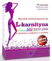 L-CARNITINE-500-Forte-Plus-zsiregeto-60-kapszula-sinetrol-olimp-labs