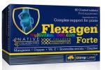 Flexagen Forte 60 db tabletta, Ízület védő, Bosewellia, Glükozamin, réz, c-vitamin, mangán, kollagén, gyömbér - Olimp Labs