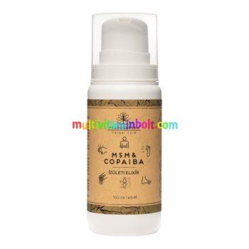 Pranagarden MSM & Copaiba vegán testvaj 100 ml