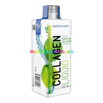 Collagen liquid - 10.000 mg - 450 ml - VITA - Nutriversum - zöld alma
