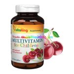 Meggyes Gyerek Multivitamin - 90 tabletta - Vitaking
